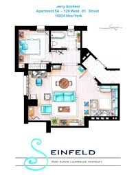 Apartment House Plans by Artsy Architectural Apartment Floor Plans From Tv Shows 9 Pics