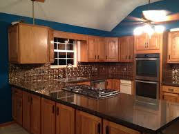 My Kitchen I Installed The Backsplash All Alone Tough Job But I - Silestone backsplash