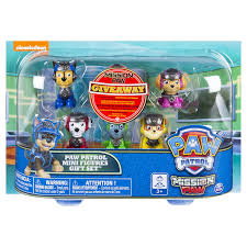amazon paw patrol mission paw mini figures gift 6