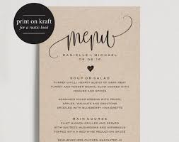 templates bridal shower menu template free as well as vintage