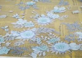 buy 3d flower lace fabric 3d flower lace fabric for sale from