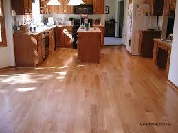 oak kitchen cabinets with oak flooring golden oak boardwalk hardwood floors