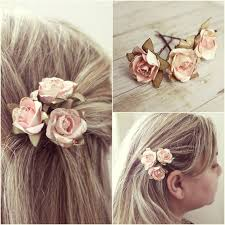 flower hair clip black flower hair weddings wedding corners