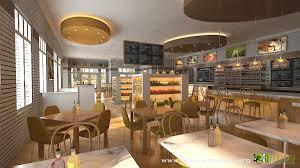 commercial 3d interior cgi restaurant bar yantramstudio
