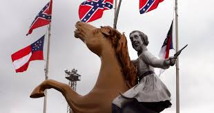 Battle Flag Of The Army Of Tennessee Nashville Moves To Block View Of Confederate General U0027s Statue