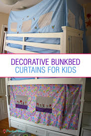Curtains For Bunk Bed Decorative Bunk Bed Curtains For Children Practical Mama
