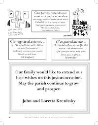 centennial celebration souvenir booklet 20th anniversary commemorative booklet st nicholas orthodox church