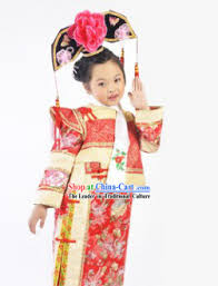 chinese dance costume and ancient clothes for children66