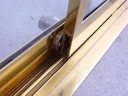 replacing sliding glass door lock replace sliding door lock