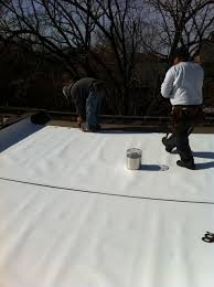 Roof Center Alexandria Virginia by Flat Roof For A Row House In Alexandria Va Lyons Contracting