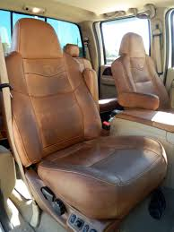 Ford F150 Truck Seats - how to clean and condition ford king ranch leather