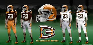 design gridiron jersey cleveland browns new uniforms fan submitted designs part 3