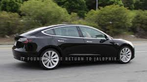 this is the tesla model 3 way before you u0027re supposed to see it