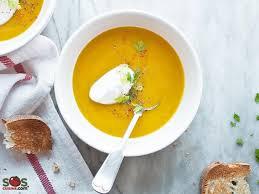 sos cuisine com spicy butternut squash soup a soscuisine recipe