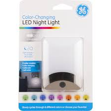 ge led night light ge color changing led night light jasco