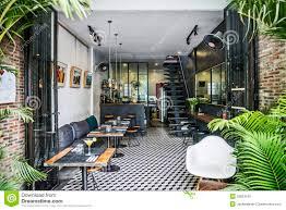 trendy retro style restaurant interior design editorial image design hipster interior restaurant retro