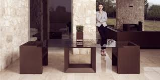 Luxury Glass Dining Table Vela Dining Table Vondom Couture Outdoor