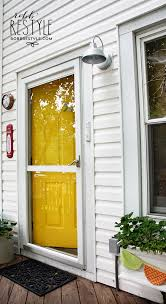 painting my door yellow and happy robb restyle