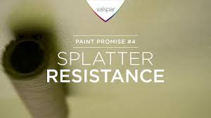 valspar paint promise 4 splatter resistance youtube