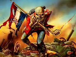iron maiden heavy metal power artwork evil eddie skull poster
