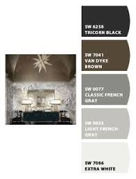 color scheme for classic french gray sw 0077 french grey gray
