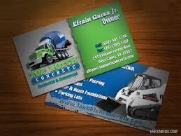 concrete business cards business card top notch concrete
