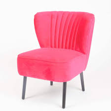 fuschia chair fuschia velvet chair oliver interiors