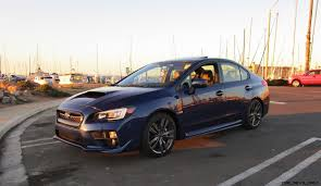 subaru wrx sport 2017 subaru wrx limited sport lineartronic road test review by