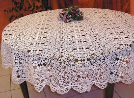 macrame lace tablecloth