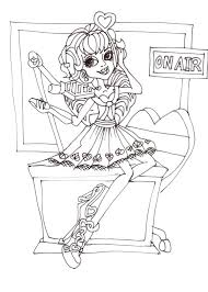 monster high coloring pages baby abbey bominable monster high coloring pages cartoon trendy monster high coloring