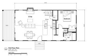 cabin floorplan 16x40 cabin floor plans 16 x40 cabin floor plans