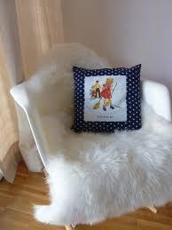decoration vintage americaine coussin de décoration chambre enfant vintage rétro américain
