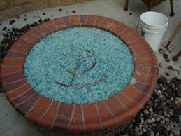 fire pit sand fire pit installation