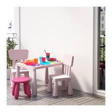 Childrens Desk And Stool Mammut Children U0027s Stool Indoor Outdoor Dark Pink Ikea