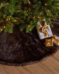 faux christmas tree skirt