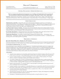 10 resume objective examples management budget reporting