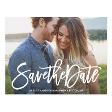 Save The Dates Postcards Save The Date Postcards Zazzle