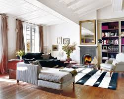 FrenchEthnicStyleApartmentIdeasCharmingDesigninBarcelona - Modern french living room decor ideas