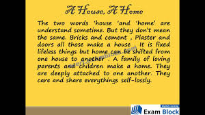 a house a home poem ncert 6th english youtube