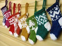 knitting pattern for christmas stocking free holiday ornaments knitting patterns in the loop knitting