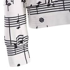 aliexpress com buy vestlinda sweatshirt pullover musical notes