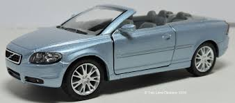 volvo convertible two lane desktop kinsmart volvo c70