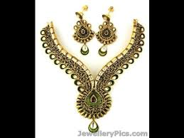 jewelry necklace rings images Top 15 joyalukkas antique kundan necklace jewellery designs jpg