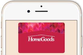 home goods wedding registry homegoods gift cards