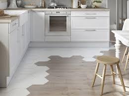 sol stratifié pour cuisine deux styles pour un même sol décoration
