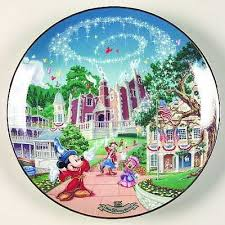 25th anniversary plates 12 best disney world 25th anniversary plates images on