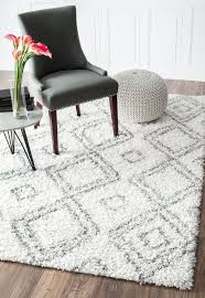 Shaggy Area Rugs Best 25 White Shag Area Rug Ideas On Pinterest Leather Couch