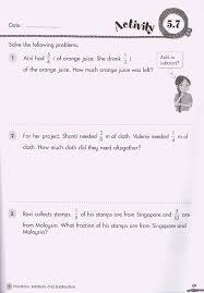 3rd Grade Fractions Worksheets Addition Problem Solving Worksheets Photocito