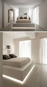 platform bed with led lights 9 bedrooms with beds that feature hidden lighting a strip of led