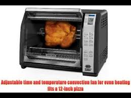 Toaster Oven Convection Oven Toaster Ovens Best Rated Black U0026 Decker Cto7100b Toast R Oven
